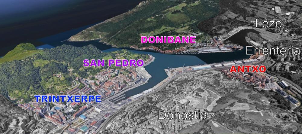 Cuatro distritos, un municipio - Pasaia
